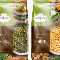 """Дизайн упаковки круп """"Peykam"""""""