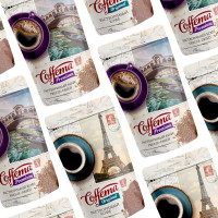 """Дизайн упаковки кофе """"Coffema"""""""