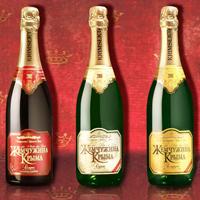 Дизайн этикетки для шампанского