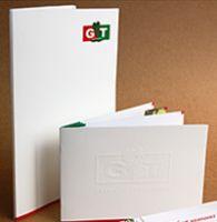 """папка, буклет, листовка """"GT"""""""