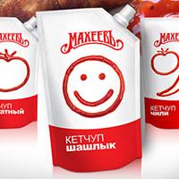 Дизайн упаковки кетчупов