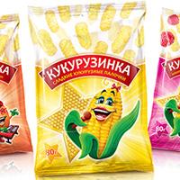 Дизайн упаковки кукурузных палочек