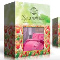 Дизайн упаковки постельного белья