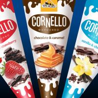 """Дизайн упаковки мороженого """"CORNELLO"""""""