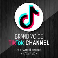 Брэнд-войс TikTok канала
