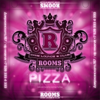 Rooms - pizza box