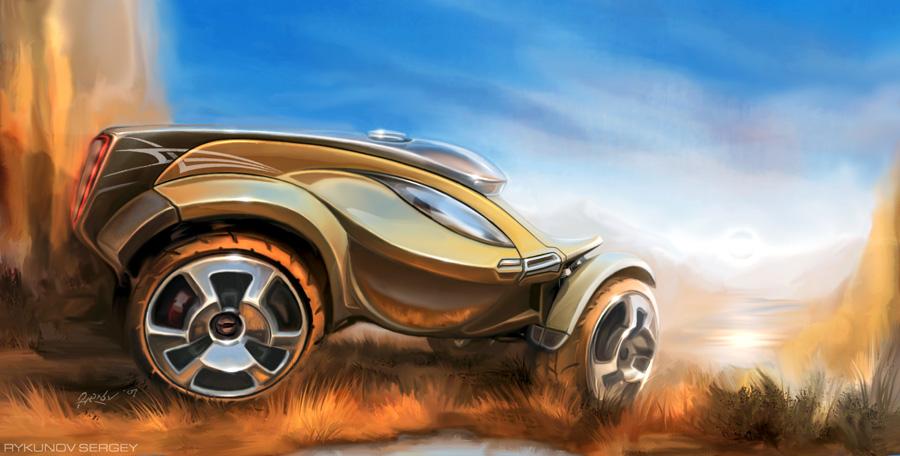 Как научиться рисовать автомобили и машины.
