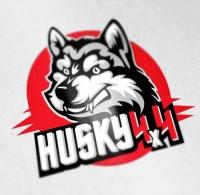 ХАСКИ 4Х4 логотип