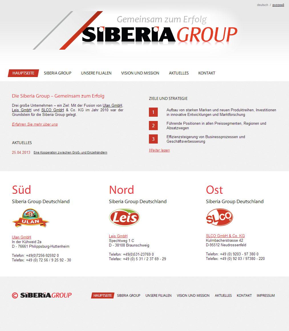 Die Siberia Group – Gemeinsam zum Erfolg