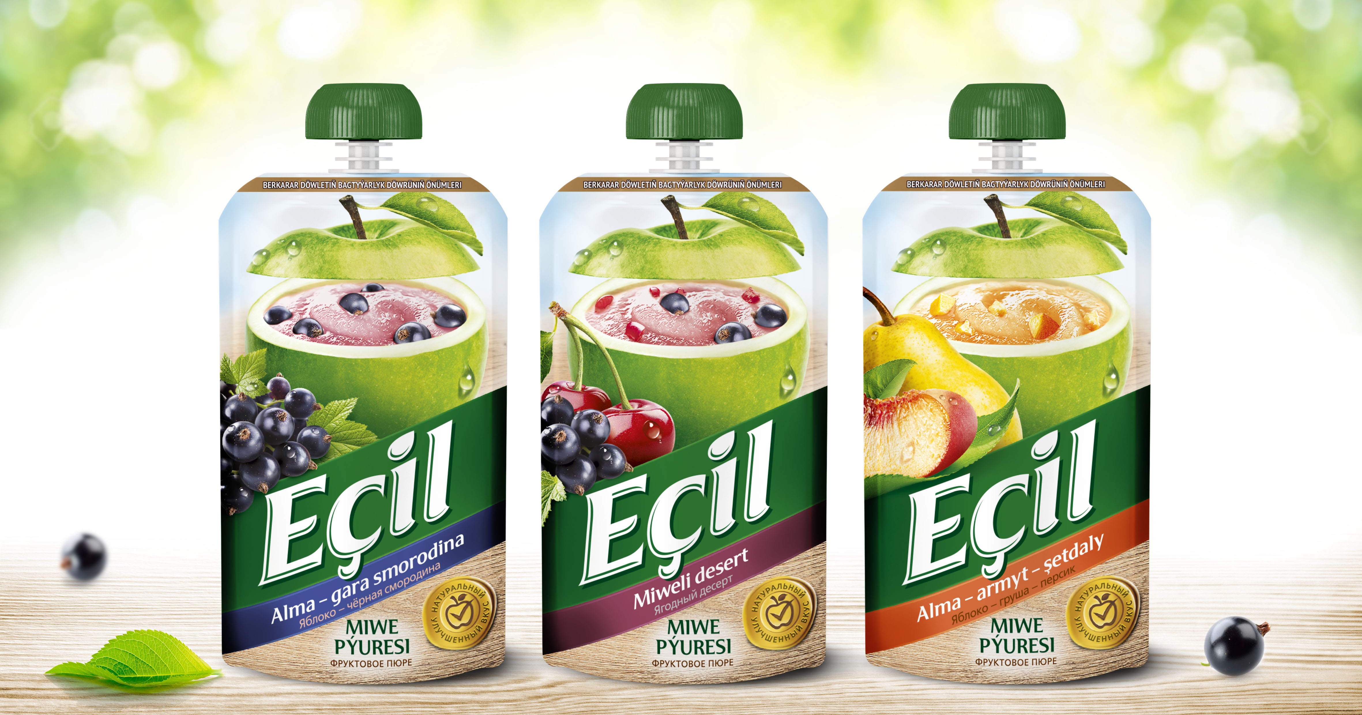 """Design of the concept juices and purees of TM """"Ecil"""""""