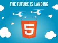 Вёрстка landing page по самым современным канонам веб разработки