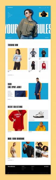 Brand Sportswear Idea