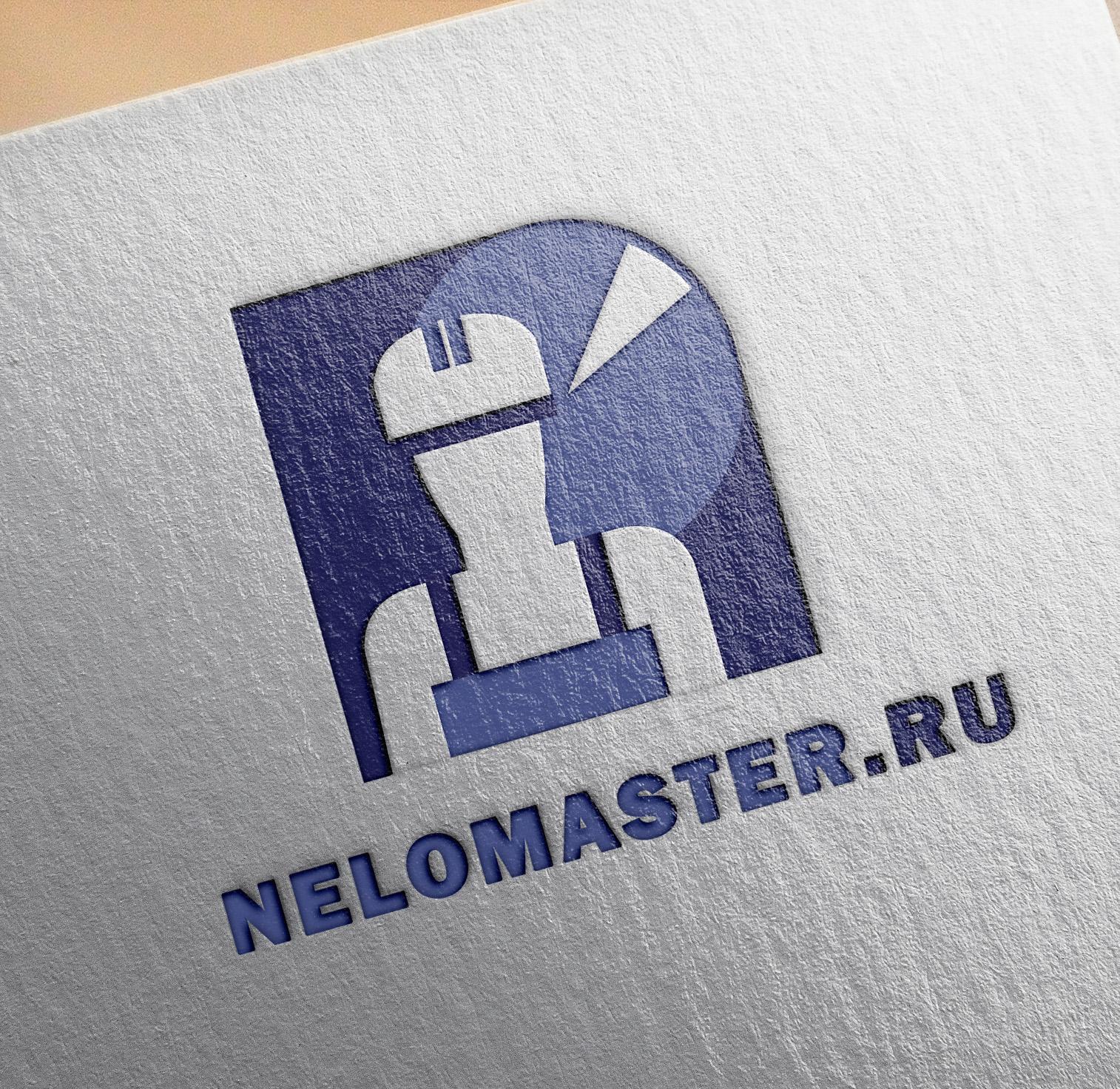 """Логотип сервиса """"Муж на час""""=""""Мужская помощь по дому"""" фото f_4105dc04caba032e.jpg"""