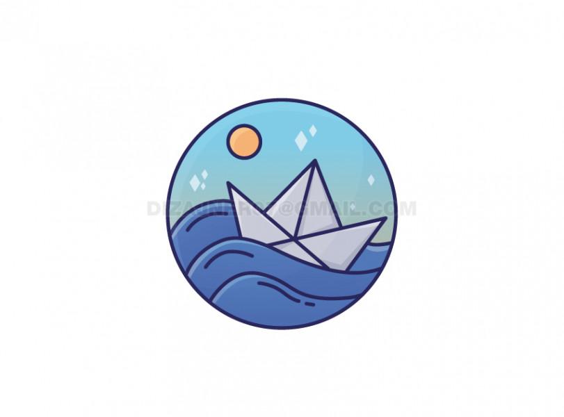 Логотип Кораблик