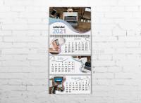 Календарь квартальный Офис 2