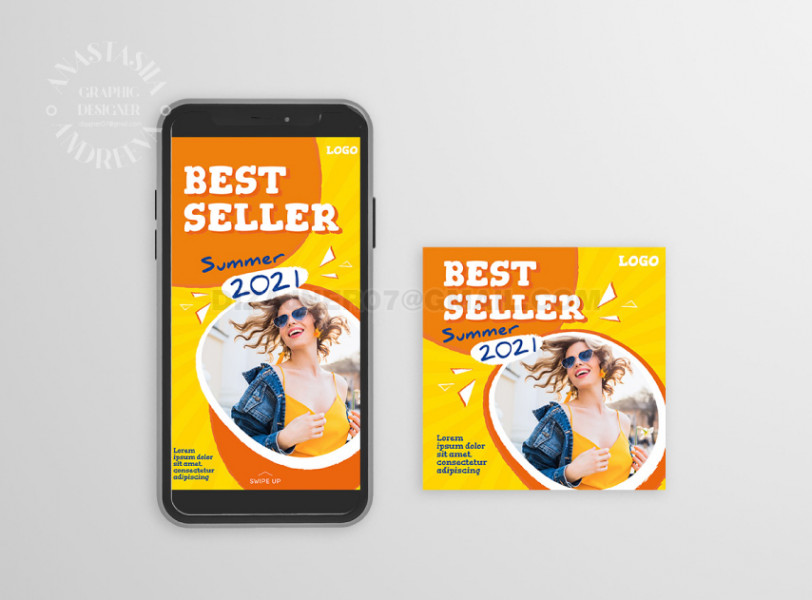 Instagram Best seller (пост и история)