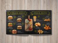 Меню Burger
