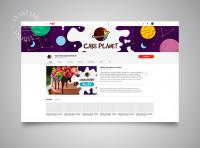 Youtube cake planet