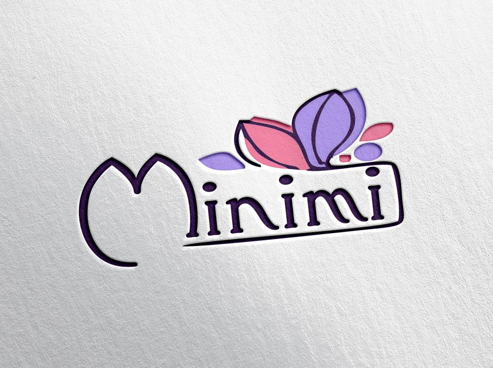 Цель: Разработать логотип детской дизайнерской одежды Мinimi фото f_2765b1cff2e7f725.jpg