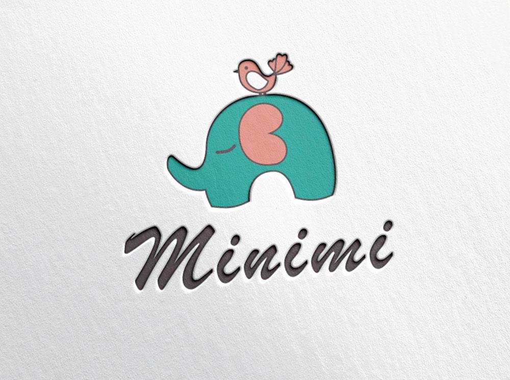 Цель: Разработать логотип детской дизайнерской одежды Мinimi фото f_8085b226c5030a94.jpg