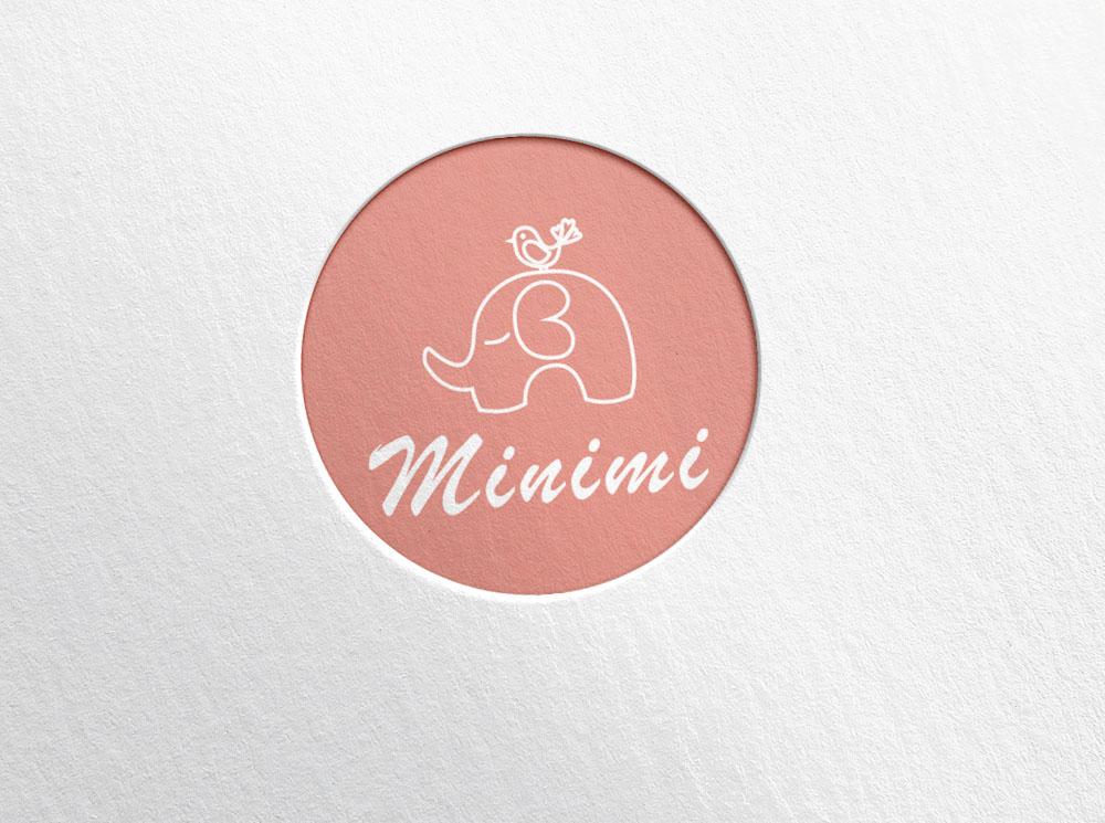 Цель: Разработать логотип детской дизайнерской одежды Мinimi фото f_9385b226c52ed8b1.jpg