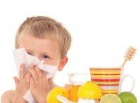 Лечение  насморка и кашля у ребенка