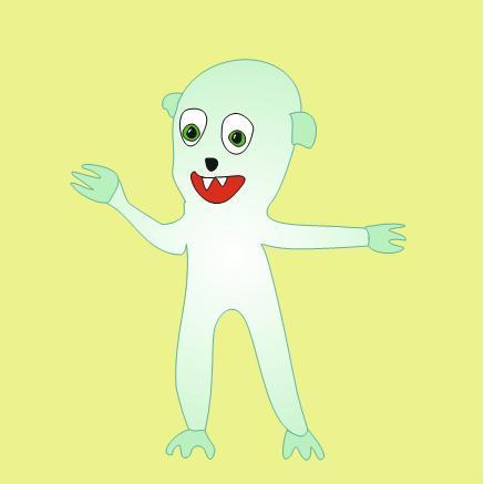 Смешные мультяшные монстрики для оформления детских колясок фото f_095539015c92598e.jpg