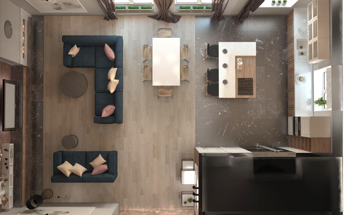 Разработка дизайна интерьера комнаты фото f_6075a33553ba409e.jpg
