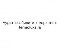 Юзабилити+маркетинговый анализ интернет-магазина termoluxs.ru