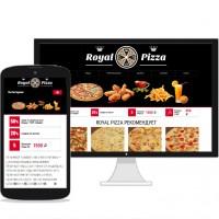 Интернет пиццерия Royal Pizza