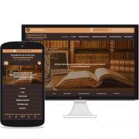 Сайт-визитка юридического агентства СмольяниновЫ и партнеры