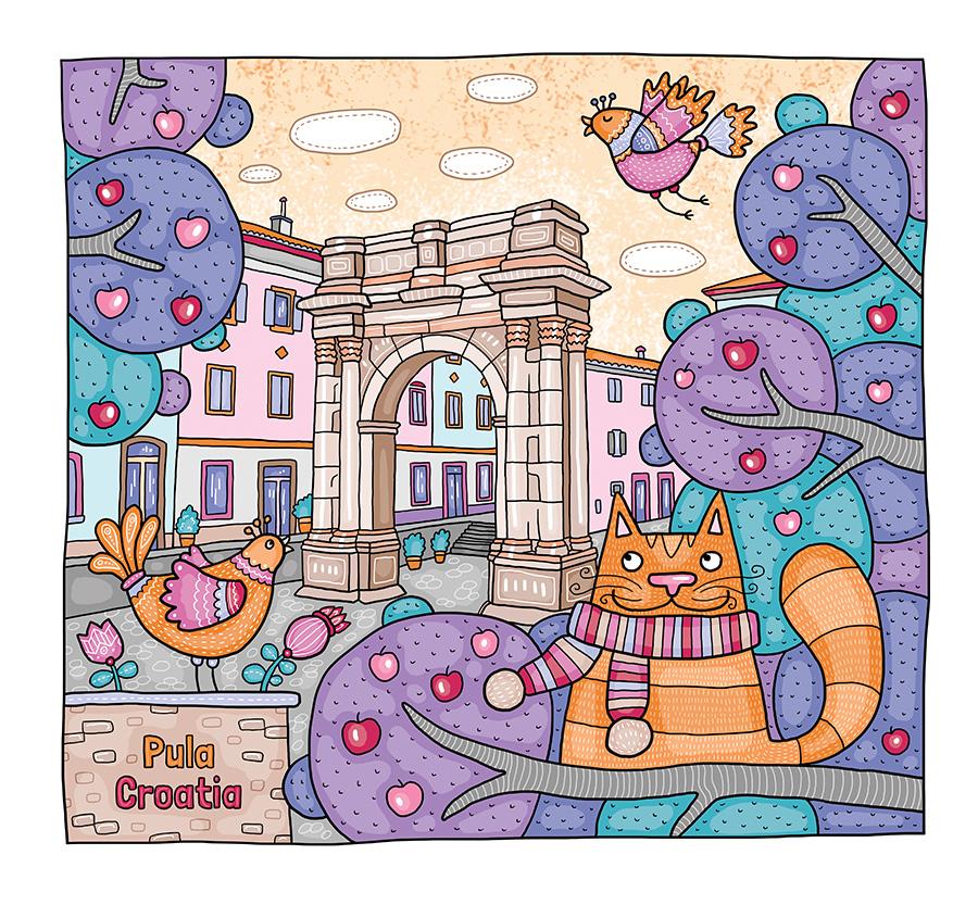 Котики в Пуле