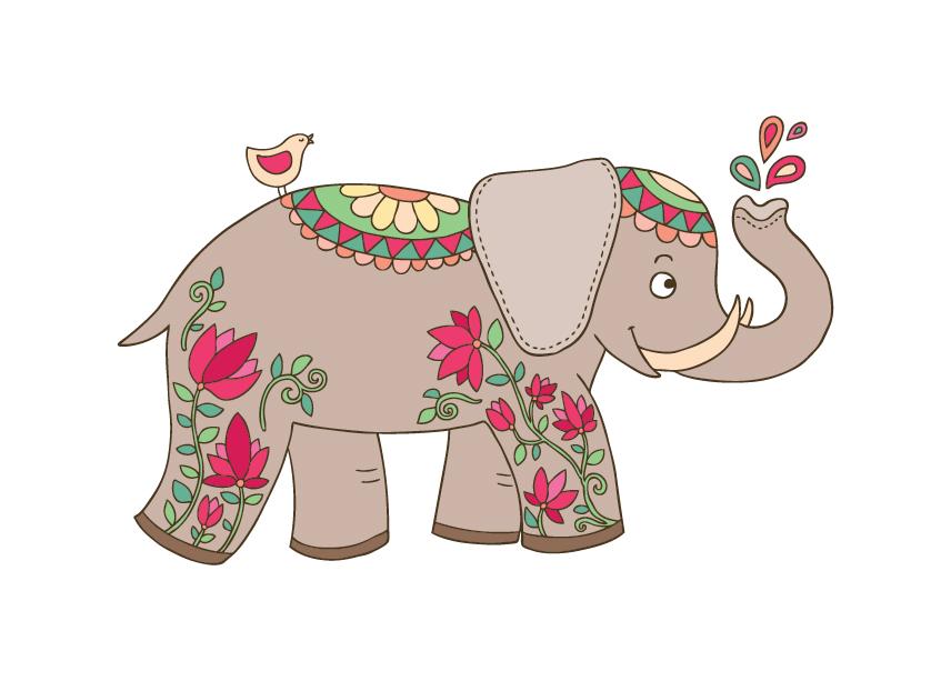 """Принт """"Слон"""""""