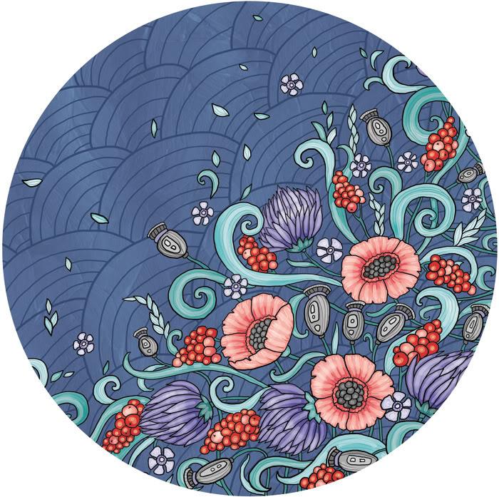 Цветочный круг