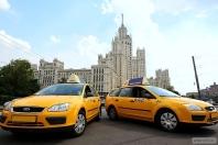 Рекламная компания московского такси