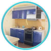 Кухня 803. Моделирование по чертежам и последующая визуализация.