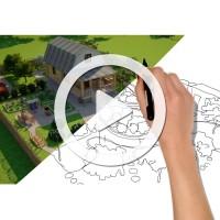 Анимация ландшафтного дизайна