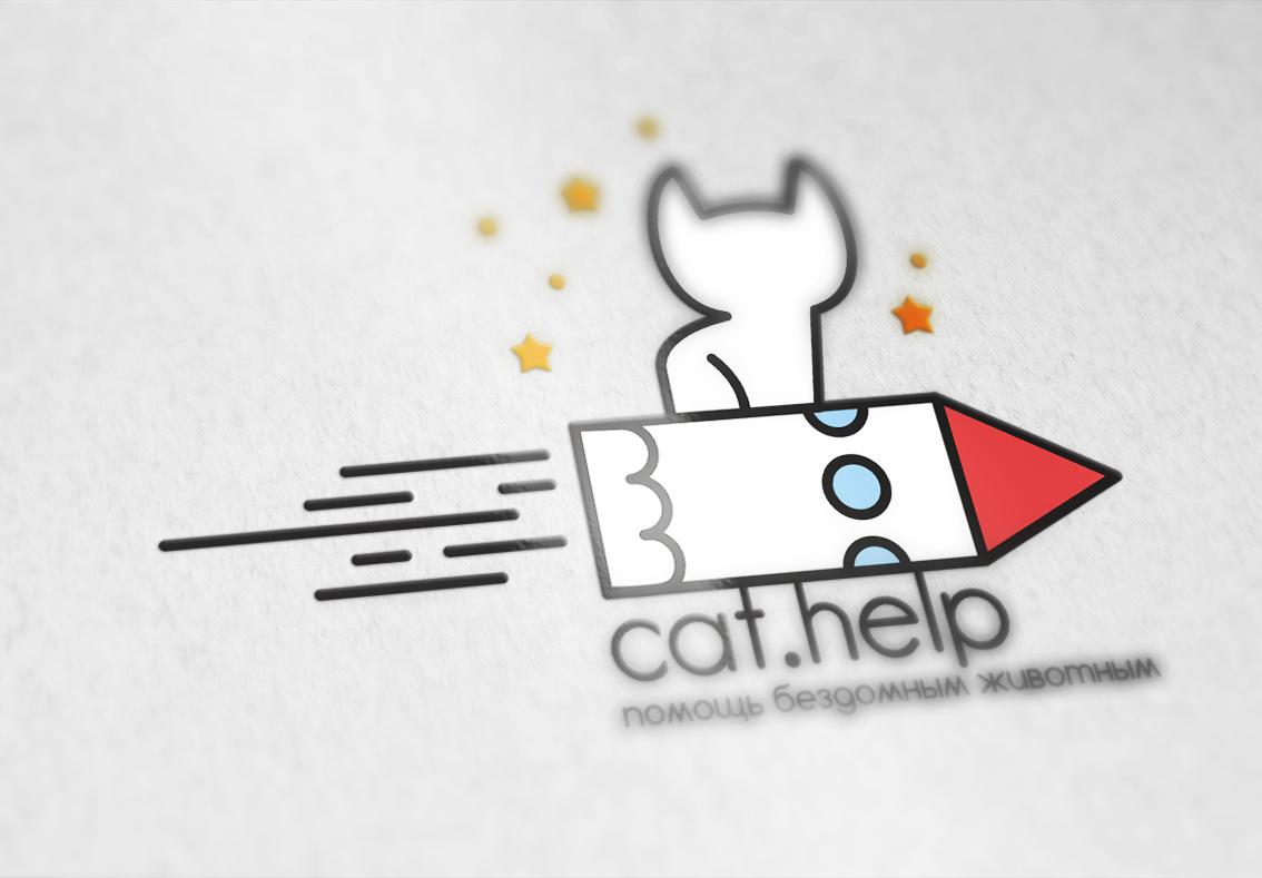 логотип для сайта и группы вк - cat.help фото f_07859e2c790db2b9.jpg