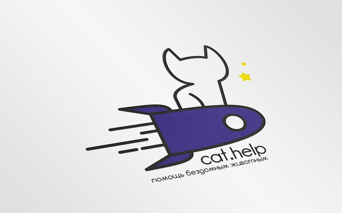 логотип для сайта и группы вк - cat.help фото f_79059e2d588ced62.jpg