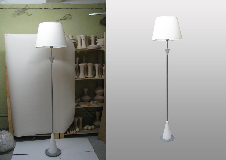Обтравка светильников
