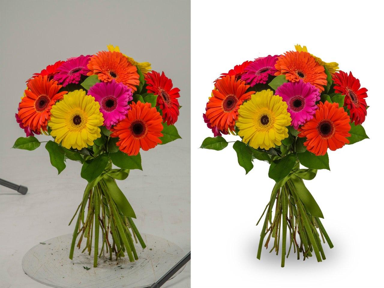 Обтравка цветов