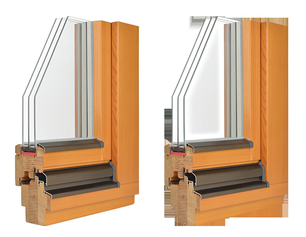 Обтравка оконного блока + прозрачность стекла