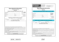 Создание файлов pdf с заполняемыми полями