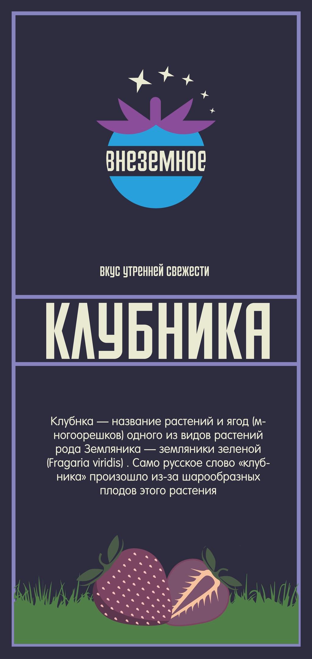 """Логотип и фирменный стиль """"Внеземное"""" фото f_0145e774da8abc97.jpg"""