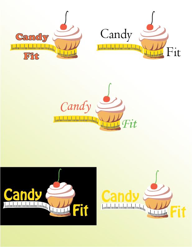 "Разработать логотип для ""CandyFit"" фото f_30551e12c9cdc8a5.jpg"