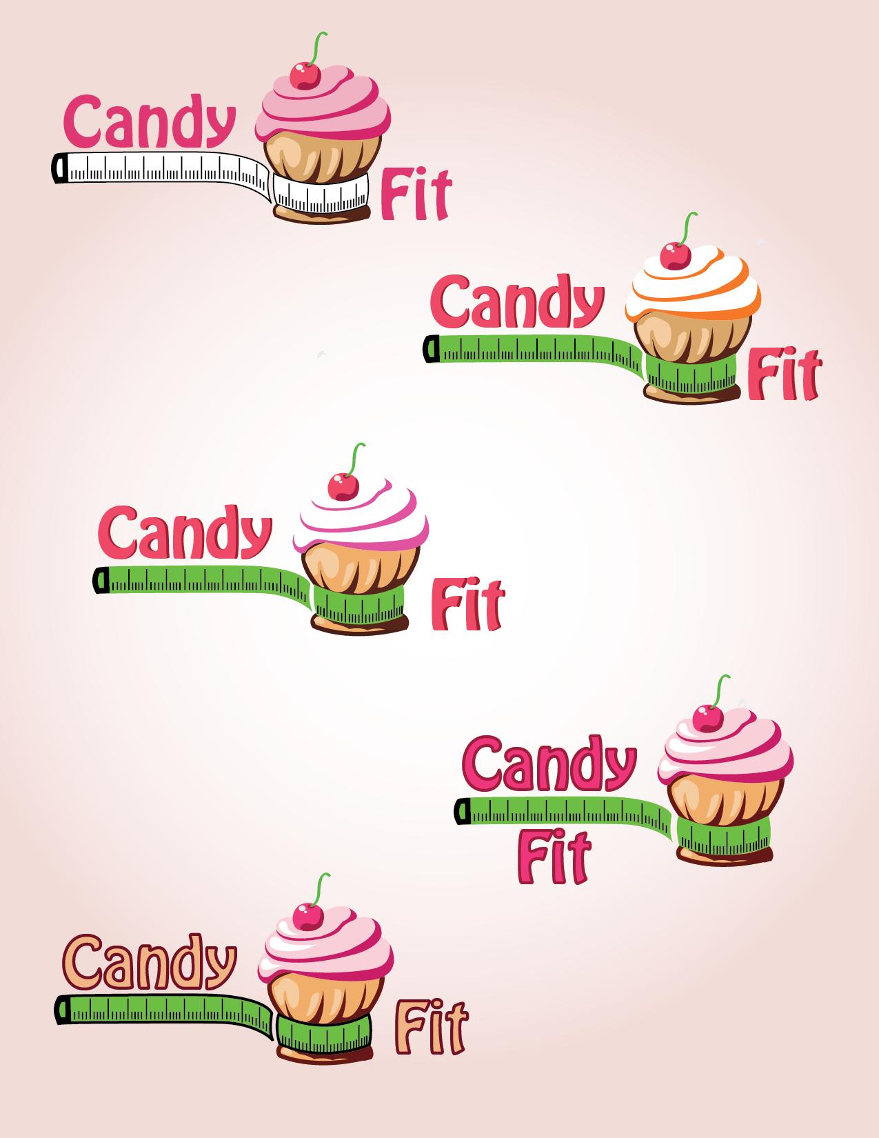 "Разработать логотип для ""CandyFit"" фото f_50651f1755632b40.png"