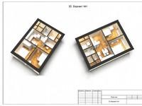 3 Варианта планировки 2-х комнатной квартиры