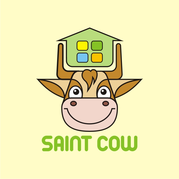 Фирменный стиль для компании Saint Cow фото f_34759c4ddfdb2d21.jpg