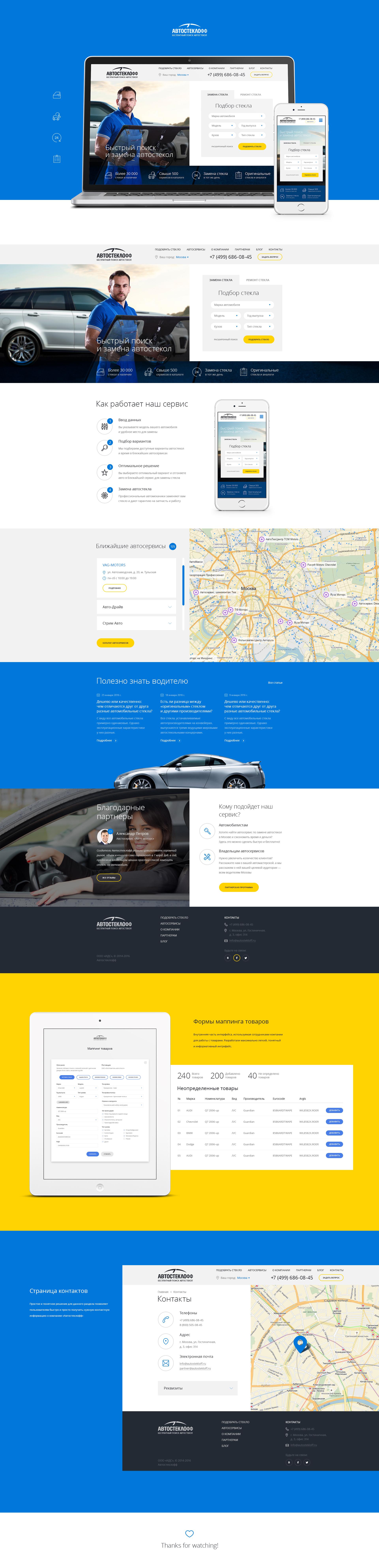 Автостеклофф — бесплатный поиск автостекол