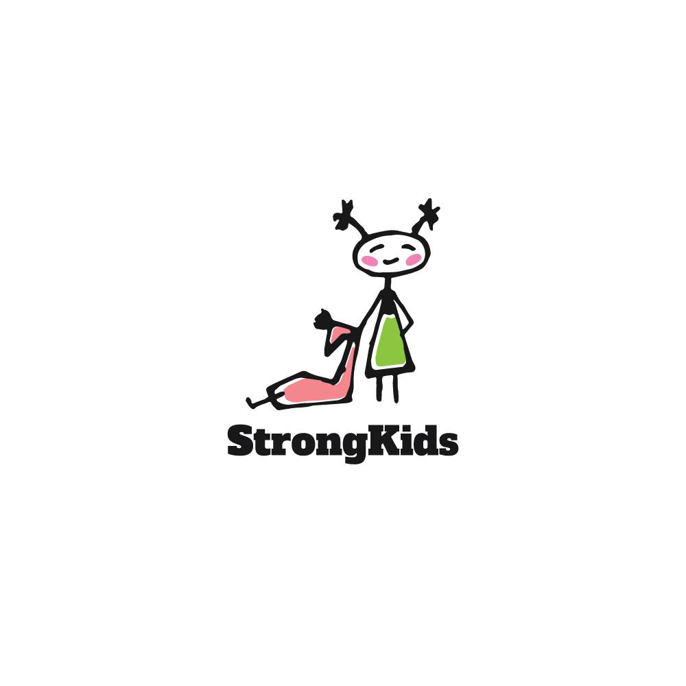 Логотип для Детского Интернет Магазина StrongKids фото f_0035c66864740e7a.jpg